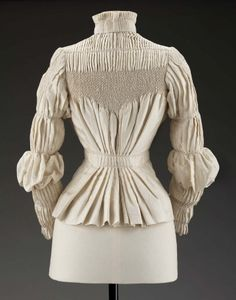 Woman's blouse  English 1890s Designed by Liberty & Co. (English, founded 1875)