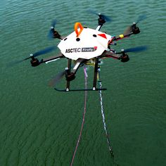 Drones That Can Suck Up Water from Lakes and Streams, Hunt Oil Leaks and Invasive Species | Drones carrying cameras or infrared sensors have already found favor with farmers, police forces, and extreme sports enthusiasts. Now engineers are testing versions of the tiny craft that can do more than just observe.