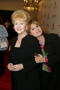 Debbie Reynolds passed away 12/28/16 age 84 of stroke  and daughter Carrie Fisher passed away 12/27/16 age 60 heart attack