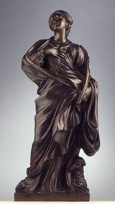 Statuette of Saint Agnes after Gianlorenzo Bernini (1598-1680) (1978.202) | Heilbrunn Timeline of Art History | The Metropolitan Museum of Art