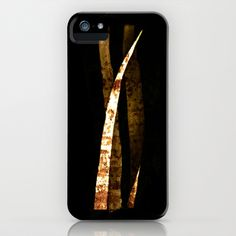 rusted paper iPhone & iPod Case