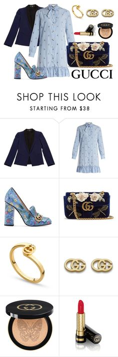 """""""gucci 1"""" by ichaermayani on Polyvore featuring Gucci and polyvorefashion"""