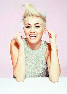 Miley Cyrus looks decent here...finally.