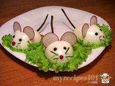 Stuffed eggs Rats