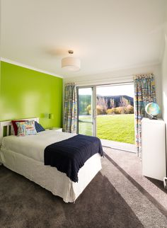 International dreams. This room comes from a Central Otago Showhome