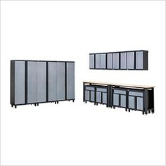 13-Piece Garage Cabinet Set