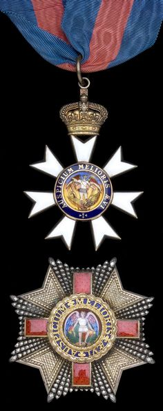 K.C.M.G., Knight Commander's set of insignia, neck badge and breast star, R. & S. Garrard.