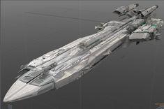 Star Citizen | Pegasus Escort Carrier - Work in progress