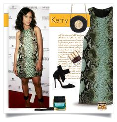 """kerry washington ...."" by jenesaisquoilifestyle ❤ liked on Polyvore featuring Gucci, Smith & Cult, Marc Jacobs, Dolce&Gabbana, Scandal and kerrywashington"