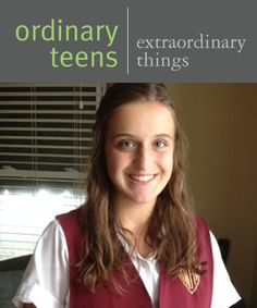 Ordinary Teens Doing Extraordinary Things – Alison Lang   Face Forward Columbus