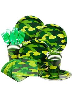 Find Army Party Standard Kit Serves 8 Guests and other All Parties party supplies. The most popular party Supplies and Decorations, all available at wholesale prices! Army Themed Birthday, Army Birthday Parties, Army's Birthday, Birthday Party Themes, Birthday Ideas, Army Party Themes, Army Party Decorations, Birthday Decorations, Army Decor