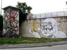 La Street Art secondo Blu