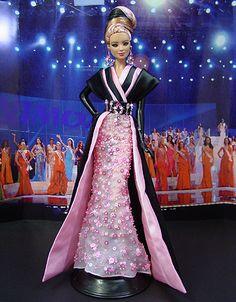 OOAK Barbie NiniMomo's - Miss West Virginia 2009