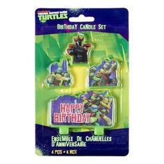 Teenage Mutant Ninja Turtles Candles Green | Spotlight Australia