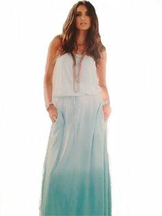 NanaMacs Vintage Boutique - Mint Green / Blue Tube Ombre Maxi Dress, $65.00 (http://www.nanamacs.com/mint-green-blue-tube-ombre-maxi-dress/)