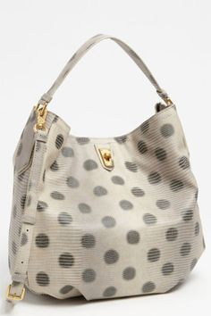 Dots' Embossed Hobo