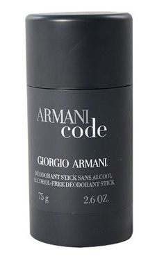 Good Armani Code by Giorgio Armani For Men Alcohol Free Deodorant Stick Ounces