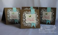 Stampin' Up! SU by Corinne Somerville, Stamping with Roxy