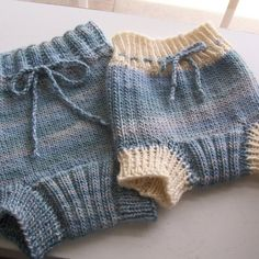 Soaker Knitted with ORGANIC  Yarn for a Newborn by ggCreations, $24.00