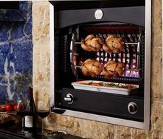 Need this built into the brick wall for everything rotisserie!