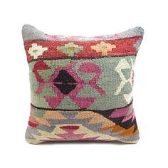 Kaleidoscope Kilim Pillow