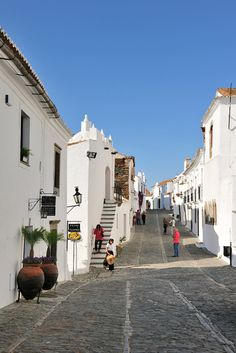 Monsaraz - typical village in Alentejo, Portugal Places Around The World, Oh The Places You'll Go, Travel Around The World, Places To Travel, Places To Visit, Around The Worlds, Portugal Travel, Spain And Portugal, Algarve