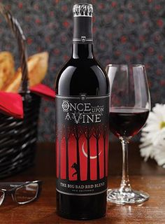 Once Upon A Vine The Big Bad Red Blend  Just bought  this one yesterday, excited to try not out!