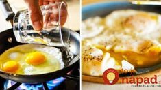 Did you know that boiling pasta and frying eggs might be easier than they already are? We've gathered some life hacks for preparing food, cleaning and organi. How To Cook Corn, How To Cook Pasta, Perfect Eggs, How To Make Sushi, Food Preparation, Food Hacks, Cooking Tips, Stuffed Peppers, Meat Recipes