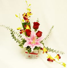 valentine day e-flowers