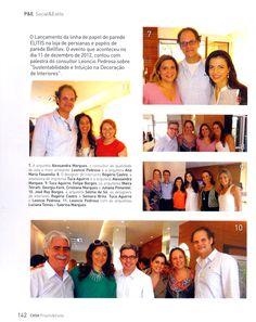 Lançamento ELITIS na Bellflex - Revista Casa Projeto & Estilo (Jan/2013)