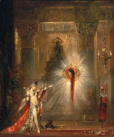 "maertyrer: ""Gustave Moreau The Apparition 1874-1876 """