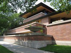 Robie House, Chicago-Frank Lloyd Wright