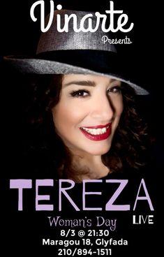 Tereza Live  March 8th!