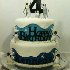 Happy Feet cake :)