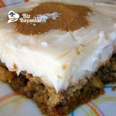 muhallebili incir tatlisi Quick Recipes, Cake Recipes, Dessert Recipes, Desserts, Beignets, Custard, Fig, Tiramisu, Cheesecake