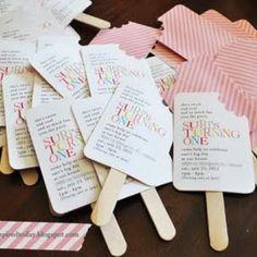 Popsicle Invites Tutorial Homemade Birthday Invitations Diy Party Invitation Summer