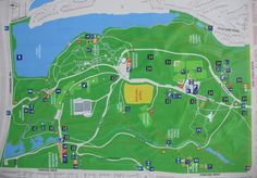 Map of Toronto High Park