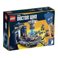 AmazonSmile: LEGO Ideas Doctor Who 21304 Building Kit: Toys & Games