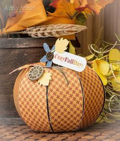 Love this pumpkin from the new Bedtime Stories SVG Kit from SVG Cuts. It is very easy to make and the whole kit is so versatile.