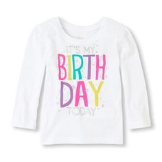 birthday today graphic tee