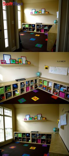 Setting up the preschool classroom education Playroom flooring ideas