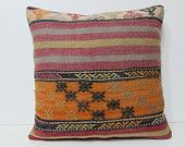 24x24 kilim pillow summer euro sham oversize pillow case large couch pillow large pillow sham big pillow cover big pillow case red rug 28943