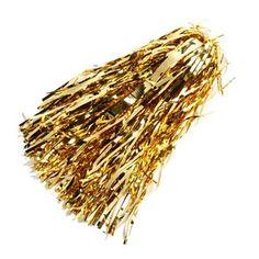 Gold Metallic Rooter Pom $3.95