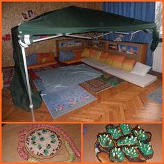 Bedouin tent activity - Saudi Arabia