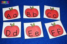 {Updated this post on 9/16/14} I am preparing as many fall activities for my class now. Here is what I am going to be doing the 4th week of school while learning about the letter Aa. (We use the Orton Gillingham Recipe for Reading letter order.) First, I just finished this simple Aa Activities letter …