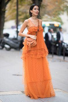 Paris Fashion Week SS17 Street Style Day 3 - Image 42