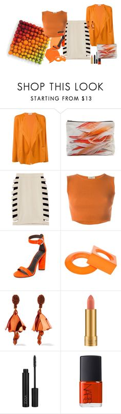 """""""Shade of orange"""" by claire86-c on Polyvore featuring moda, Ralph Lauren, Le Tricot Perugia, By Emily, Samudra, Yigal Azrouël, Romeo Gigli, Kendall + Kylie, Maison Margiela e Oscar de la Renta"""