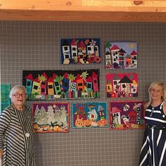 """""""It Takes a Village Quilts"""" by Freddy Moran and Jean Impey"""