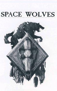Space Wolves/Vlka Fenryka Totem