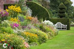 arley hall gardens | ... herbaceous borders at Arley Hall and Gardens, pictured in September